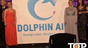 Die BotschafterInnen der Dolphin Aid bei der Eröffnung der Gala