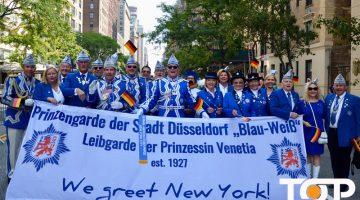 Prinzengarde Blau-Weiss in New York