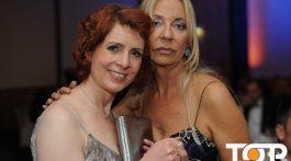 Moderatorin Monica Lierhaus und Dolphin Aid Gründerin Kirsten Kuhnert