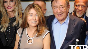 Gisela Muth (links) und Richard Lugner (2.v.r) gaben sich ein Stelldichein